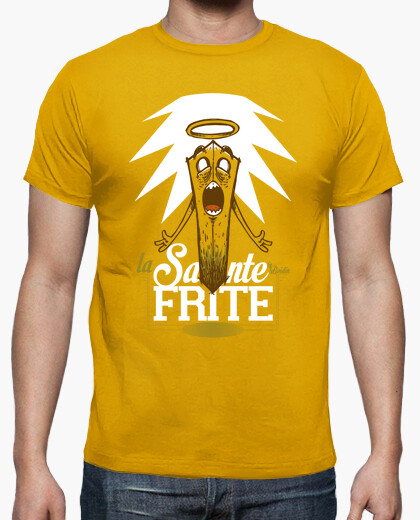 Tee-shirt La sainte Frite - Men/Yellow Mustard