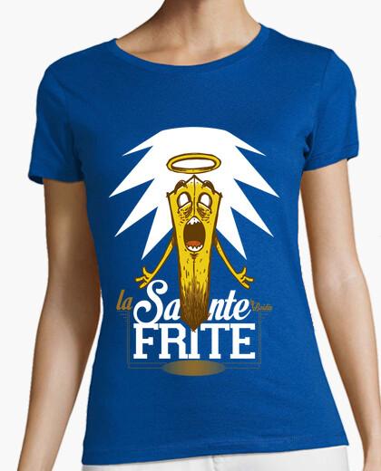 Tee-shirt La sainte Frite - Women/Black