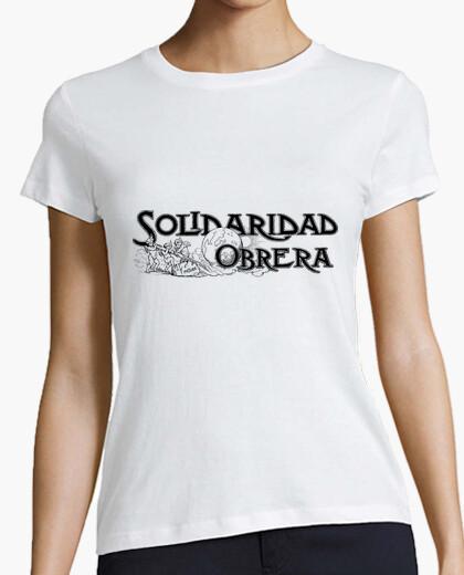 Tee-shirt la solidarité du travail
