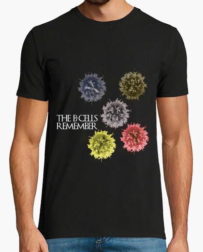 Tee-shirt les cellules b se souviennent de hmc sombre