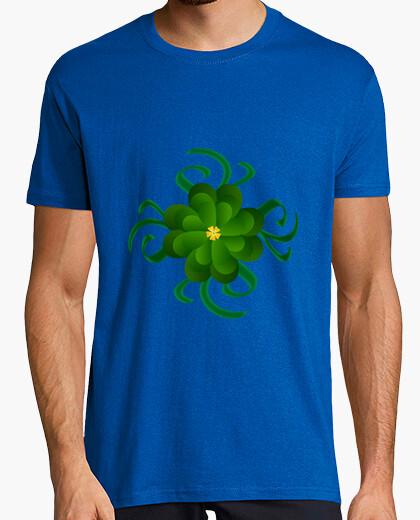 Tee-shirt logo fleur