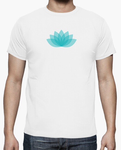 Tee-shirt Lotus bleu