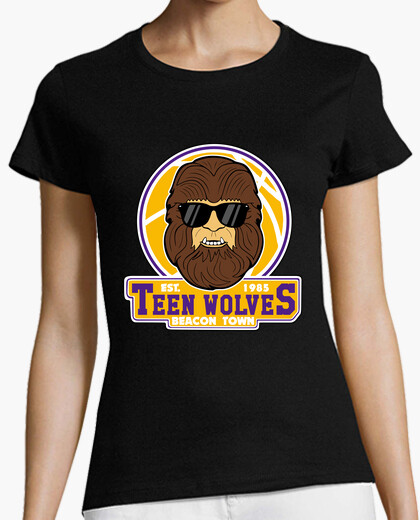 Tee-shirt loups adolescents