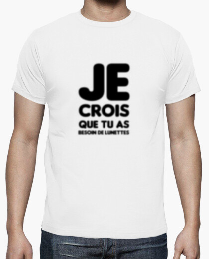 Tee-shirt Lunettes