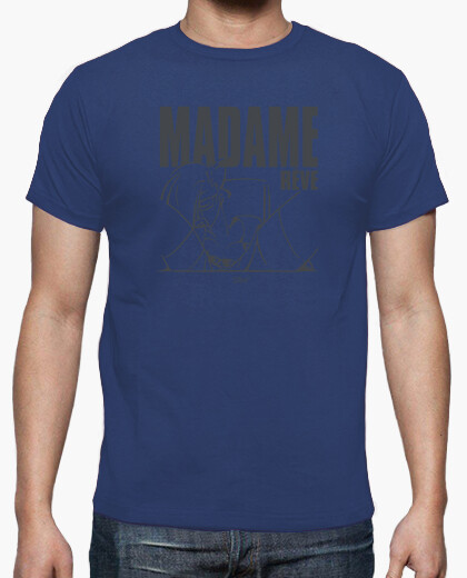 Tee-shirt Madame rêve 2 gris by Stef