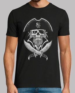 tee-shirt man - capt pirate