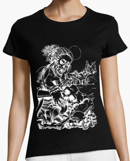 Tee-shirt manger de la peur - négatif
