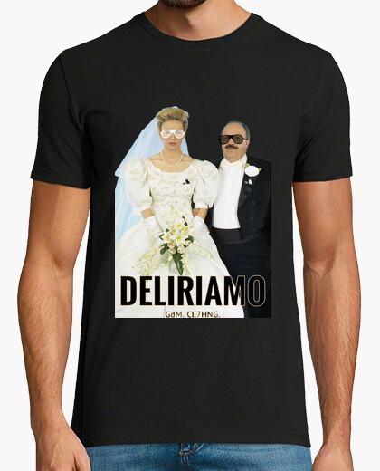 Tee-shirt maria et maurizio mariés