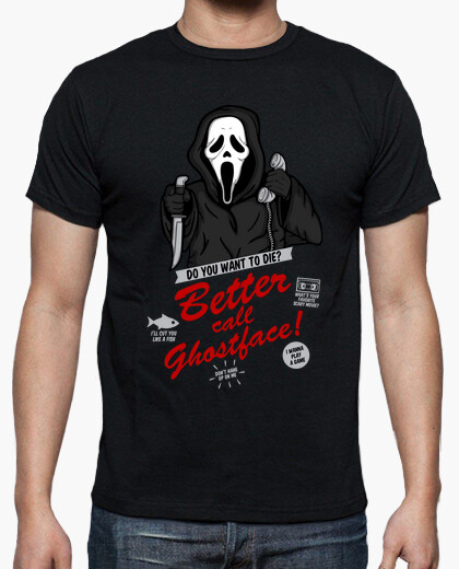 Tee-shirt mieux c all ghostface