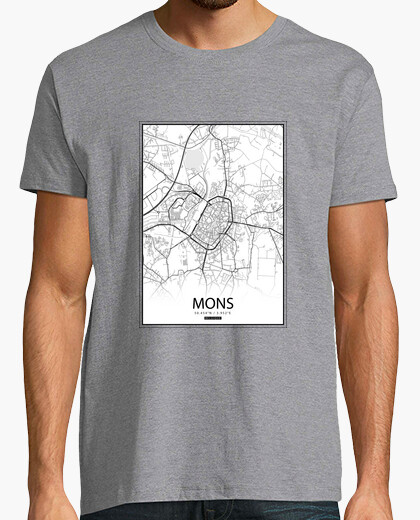 Tee-shirt Mons carte