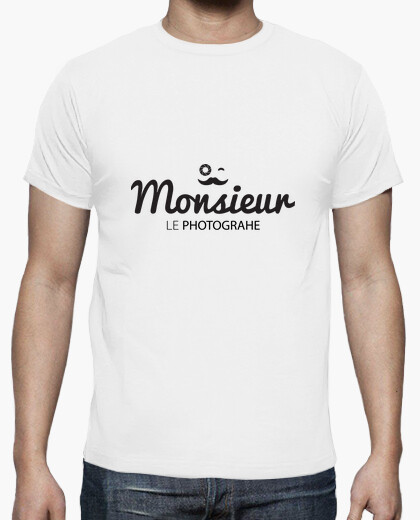 Tee-shirt Monsieur le photographe