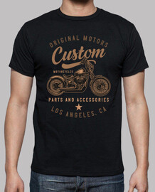 tee-shirt motards rétro californie vintage californie les angles custom