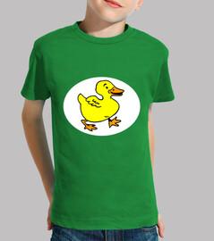Tee-shirt motif Canard joyeux