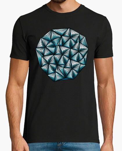 Tee-shirt motif de triangles de forme...
