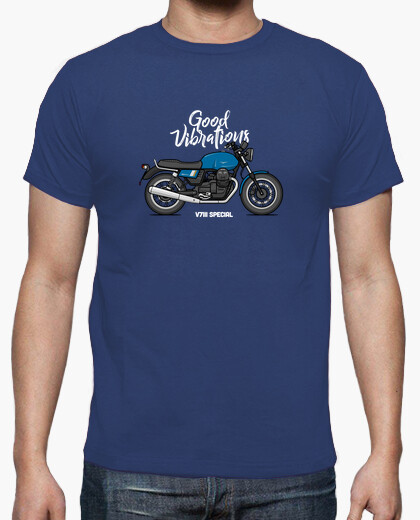 Tee-shirt Moto Guzzi v7iii spéciale