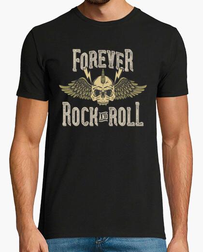 Tee-shirt musique rock skull rockers USA - USA motards