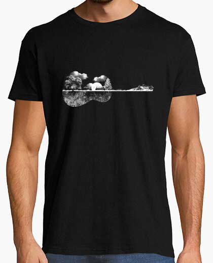 Tee-shirt Nature Guitare