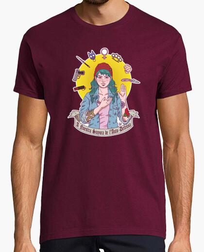 Tee-shirt notre sinyora de lauto-défense