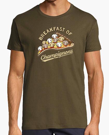 Tee-shirt petit-déjeuner de champignons