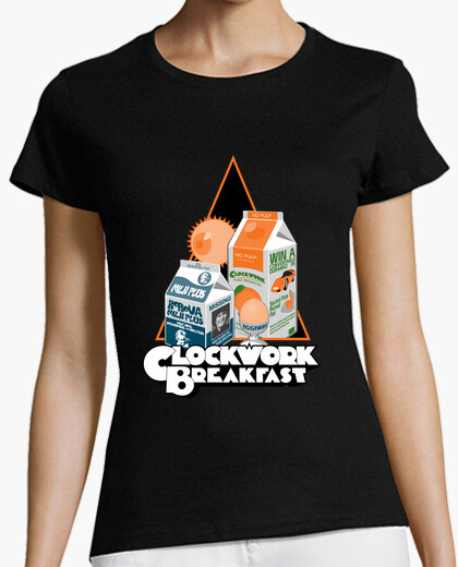 Tee-shirt Petit-Déjeuner Orange mécanique