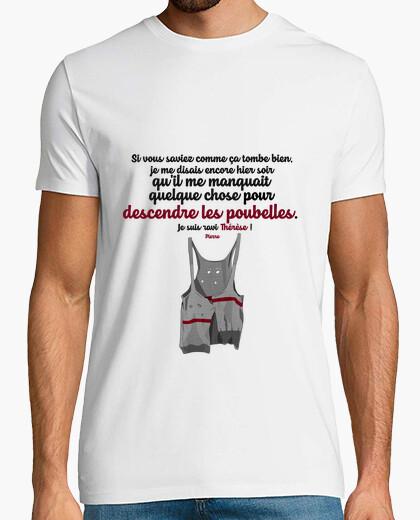 Tee-shirt Pierre et le pull