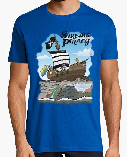 Tee-shirt piratage de flux
