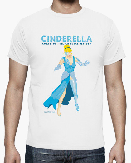 Tee-shirt princesse de la pâte - cendrillon