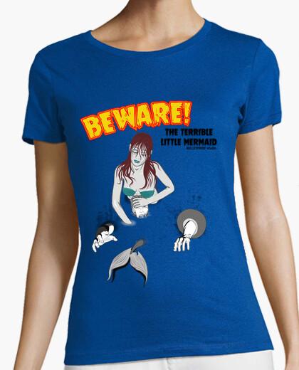 Tee-shirt princesse de la pâte - la petite sirène