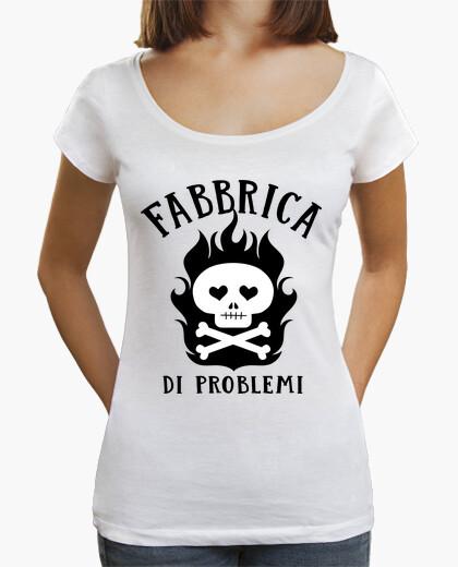 Tee-shirt problèmes d'usine