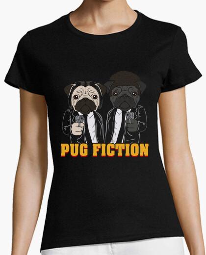 Tee-shirt pug fiction