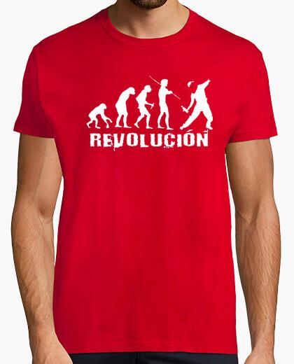 Tee-shirt ré-évolution révolution espagnole