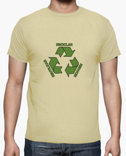 Tee-shirt recycler, réduire, réutiliser