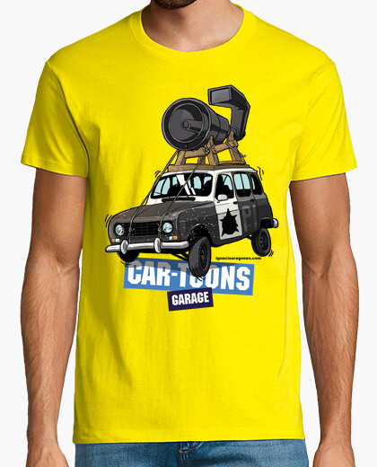Tee-shirt Renault 4L Blues Brothers