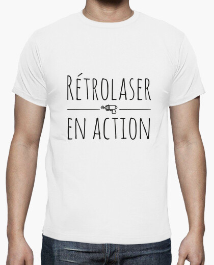 Tee-shirt Retolaser en action