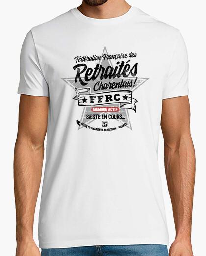 Tee-shirt Retraités Charentais (Noir)