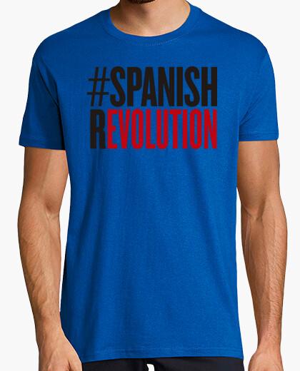 Tee-shirt révolution espagnole