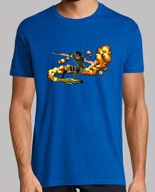 Tee-Shirt Rocket Surfer