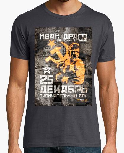 Tee-shirt Rocky IV: Ivan Drago (Golden...