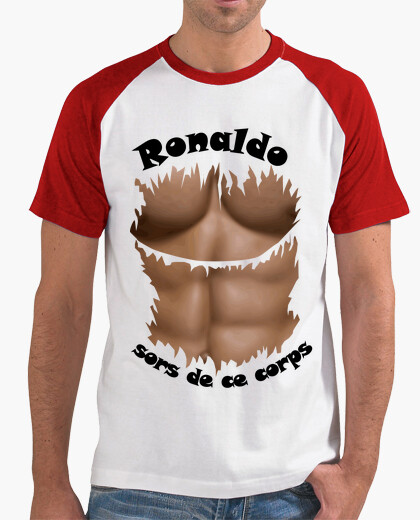 Tee-shirt Ronaldo sors de ce corps FB
