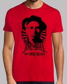 Tee-Shirt Rouge Homme - Joe Hill English