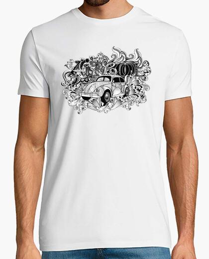 Tee-shirt Savoie Lactée, Aircool cox VW