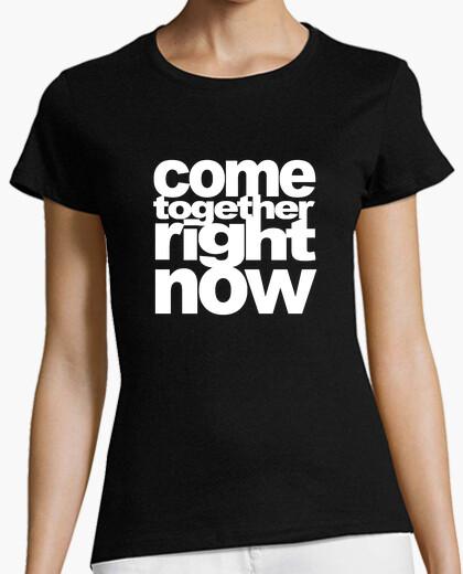 Tee-shirt Se réunir blanc