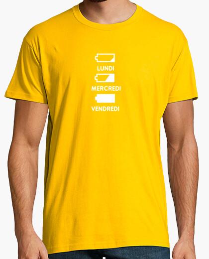 Tee-shirt Semaine