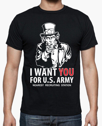 Tee-shirt shirt je vous veux mod.11 usarmy