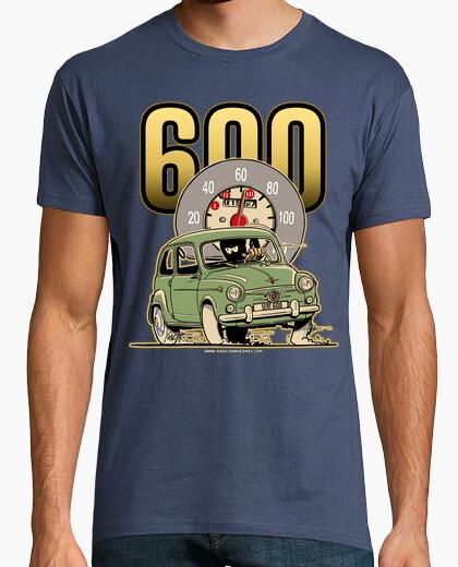 Tee-shirt siège 600 vert foncé