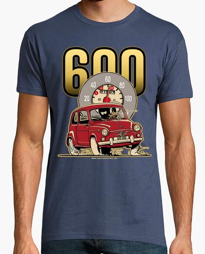 Tee-shirt siège rouge 600