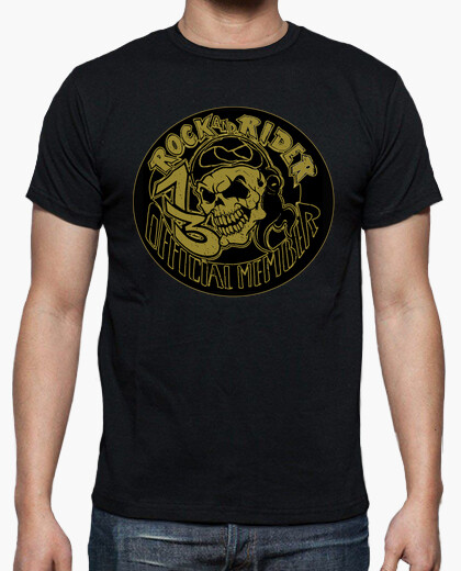 Tee-shirt Skull official Member 13 Rock And Rider®