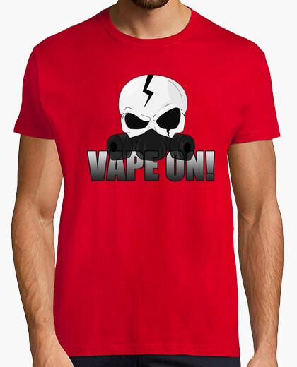 Tee-shirt Skull Vape On !