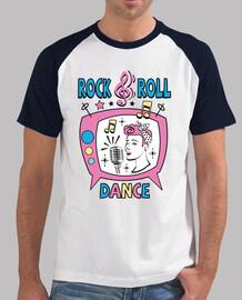 tee-shirt sock hop rockup rock and roll party rockup rockup rockabilly des années 1960 USA