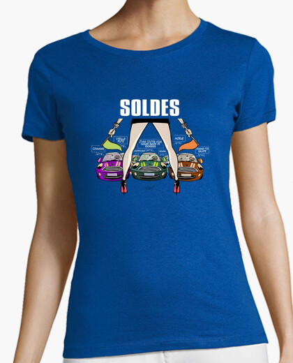 Tee-shirt soldes blanc by Stef